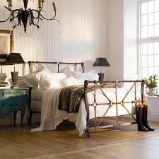 In The Bedroom Cast by And So To Bed Handel Luxury Metal Bed With Cast Iron Straps
