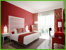 Chic Red Bedroom Idea Ideas Thearmchairs