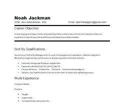 Auto Mechanic Resume Sample Objective Template Job And Automotive