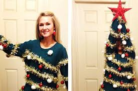 Nbc Christmas Tree Lighting 2014 by Create Your Own U0027ugly U0027 Christmas Sweater With Diy Ideas From