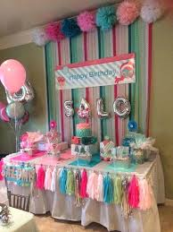 Cheap Pink Party Decorations Best Spa Ideas On Plastic Birthday Parties Sleepover