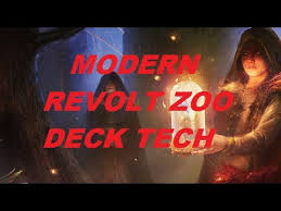 Zoo Mtg Deck List by Modern Revolt Zoo Deck Tech Youtube