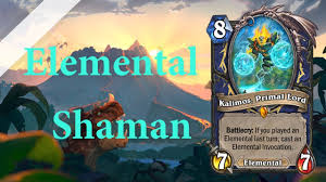 ryans elemental mid shaman hearthstone deck showcase youtube