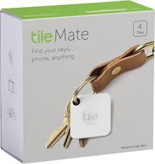 Tile Mate Item Tracker 4 Pack White RT 05004 NA
