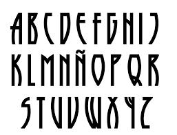 Tipo De Letras Diferentes