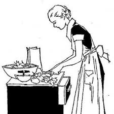 Free Kitchen Clipart Retro Kitchen Utensils Picture
