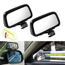 Blind Spot Mirror, 2 Pcs Black Rectangle Wide Adjustable Angle ... Vehicle Blind Spot Assistance Stock Image Of Blind Angle Spots How To Check Them While Driving Aceable 2 X 3 Inch Rear View Mirrors Rearview Wide Angle Round Best Truck Curtains Decoration Ideas Drapes Mirror Pcs Black Fanshaped Auxiliary Arc Car Side 360 Adjustable Fits And Insights Wainwright Insight Wise Eye Blind Spot Truck Mirror Back Up Light Trouble Spot Unsafe Practices Saaq Right Position Trucklite 97619 5 Convex