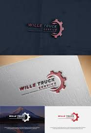 100 Performance Truck Parts Bold Serious Automotive Logo Design For Wille Service