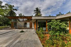 103 A Parallel Architecture Kerala This Glass Bungalow Opens Up Views To Rubber Plantation Rchitectural Digest India
