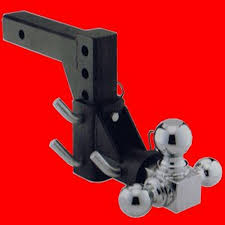 100 Tow Hitches For Trucks 3 BALL SWIVEL ADJUSTABLE TRUCK TRAILER TOW HITCH M