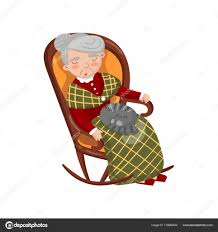 Grandma Sleeping In Cozy Chair With Cat On Her Knees Cartoon Vector ... Funny Grandmother Cartoon Knitting In A Rocking Chair Royalty Free And Ftstool Awesome Custom Foot Stool Within 7 Amazoncom Collections Etc Charming Shadow Figure Grandma In Rocking Chair Bank Senior Woman With On Stock Photo Image Of Vintage Norcrest Grandma In Salt And Pepper Etsy Zelfaanhetwerk Shakers Vintage Crazy Grandmas Youtube Royaltyfree Rf Clip Art Illustration A Granny