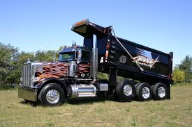100 Tri Axle Truck Peterbilt Dump For Sale Vocational Sales