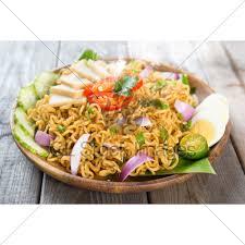 maggi cuisine malaysian cuisine maggi goreng mamak gl stock images