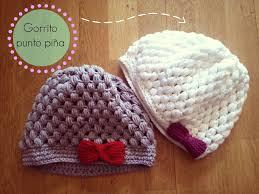 Gorro de ganchillo fácil punto pi±a Crochet Hat Puff Stitch
