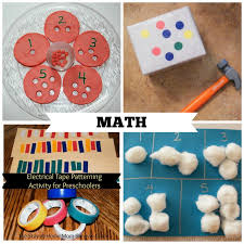 Activities For Preschool That Teach Math Skills These Are Great At Home
