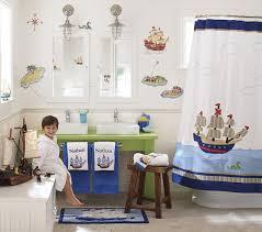 Pirate Appliqué Shower Curtain