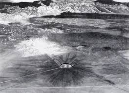 The Bomb Was Buried 936 Deep And Explosion Equivalent To A 475 Earthquake On Richter Scale Trinity Crater