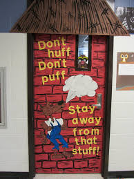 Pictures Of Halloween Door Decorating Contest Ideas by Incorporating Literature Into The Door Decoration I Like It
