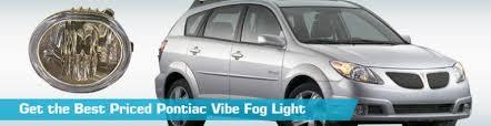 pontiac vibe fog light fog lights crash philips cipa ac