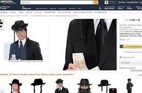 amazon si e amazon germany pulls ad for rabbi costume the times