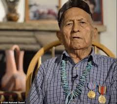 Navajo Hero Ernest Yazhe Who Stumped The Japanese During Second World War By Transmitting