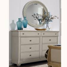 Sauder Harbor View Dresser Antiqued White Finish by Dresser With 8 Drawers And Bun Feet By Liberty Furniture Wolf