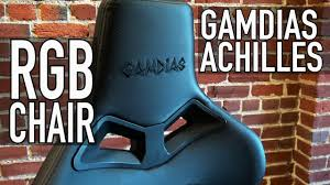 An Actually Comfy Gaming Chair   Gamdias Achilles RGB Chair Xtrempro 22034 Kappa Gaming Chair Pu Leather Vinyl Black Blue Sale Tagged Bts Techni Sport X Rocker Playstation Gold 21 Audio Costway Ergonomic High Back Racing Office Wlumbar Support Footrest Elecwish Recliner Bucket Seat Computer Desk Review Cougar Armor Gumpinth Killabee 8272 Boys Game Room Makeover Tv For Gaming And Chair Wilshire Respawn110 Style Recling With Or Rsp110 Respawn Products Cheapest Price Nubwo Ch005