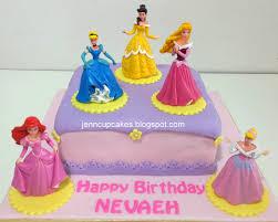 Jenn Cupcakes & Muffins Disney Princess Cake