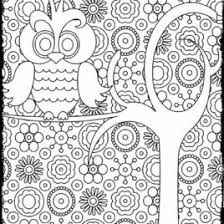 Advanced Coloring Pages For Adults Page 1