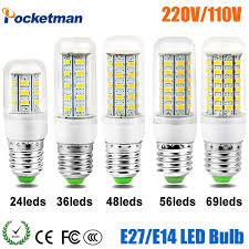 led corn bulb e27 e14 replace incandescent 50w 40w 30w 25w 15w