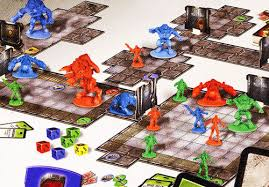 Doom The Boardgame Is A Game That Runs In Similar Manner To Table Top Role Playing Games Such As Dungeons And Dragons One Player Acts Invader