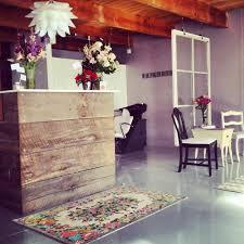 Beauty Salon Decor Ideas Pics by Fabulous Vintage Salon Reception Desk Best 25 Rustic Salon Decor
