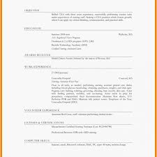 Mock Resume Sample Student Resume Examples Awesome Unique American