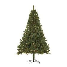 Black Box Trees 379076 02 Sapporo Lit Artificial Christmas Tree Height 185 CM Diameter 115