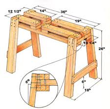 39 free sawhorse plans in the hunt for the ultimate sawhorse i u0027m