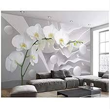 pvc benutzerdefinierte große raum schmetterling orchidee
