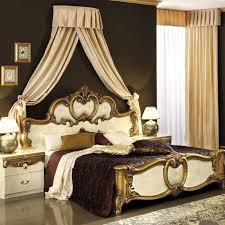 schlafzimmer barocco beige gold moderne schlafzimmermöbel
