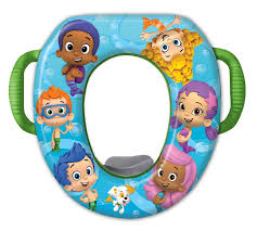 Bubble Guppies Bathroom Decor by Bubble Guppies Soft Potty Seat Baby N Toddler