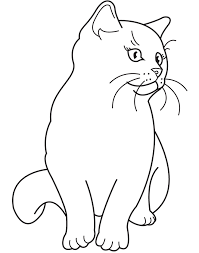 29 Realistic Cat Coloring Pages 4761 Via Azcoloring