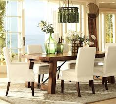 Pottery Barn Dining Chair Slipcovers Room