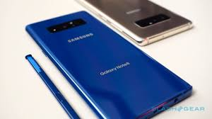 Although The Eye Catching Deepsea Blue And Maple Gold Versions Of Note 8 Wont Launch In