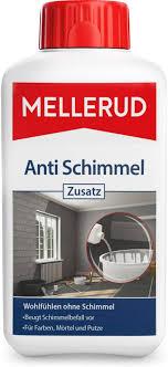 mellerud anti schimmel zusatz vorbeugung gegen schimmelbefall zum einmischen in farbe mörtel putz oder leim 1 x 0 5 l