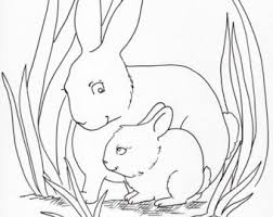 Animal Family Coloring Page Packet