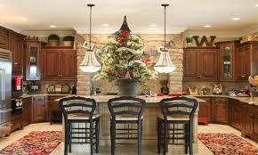 Kitchen Stupendous Modern Island Bench Interior Cabinet Lighting Faux Stone Backsplash Soft White Paint