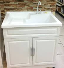 vanities laundry tub cabinet canada laundry sink vanity home