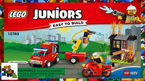 100 Lego Fire Truck Instructions LEGO Instructions Juniors 10740 Patrol Suitcase YouTube