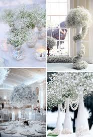 Babys Breath Wedding Decor Ideas For Winter Wonderland Weddings