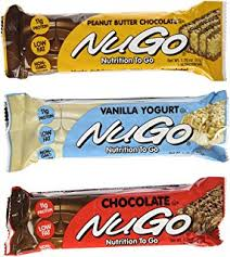 NuGo Nutrition Bar Variety Pack 24 Count