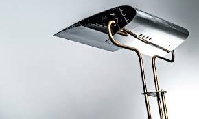 Airplane Lamp Art Deco by Plane Industries 737 Leading Edge Floor Lamp