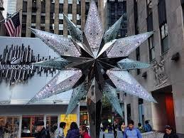 Rockefeller Center Christmas Tree Topped With 550 Pound Swarovski Crystal Star